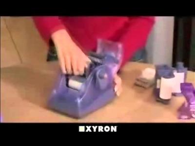 Xyron Create-A-Sticker 250 Demo Video - XRN250