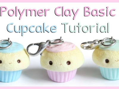 Basic Polymer Clay Cupcake Tutorial