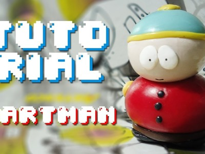 CARTMAN South Park Polymer Clay Tutorial. Porcelana Fría