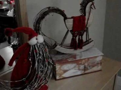 Christmas decorations house tour Part 1