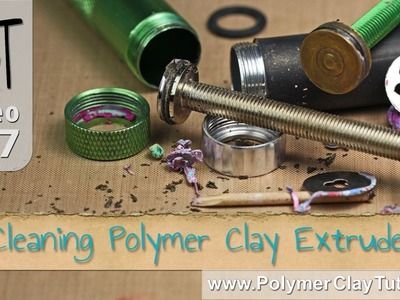 Cleaning Polymer Clay Extruders
