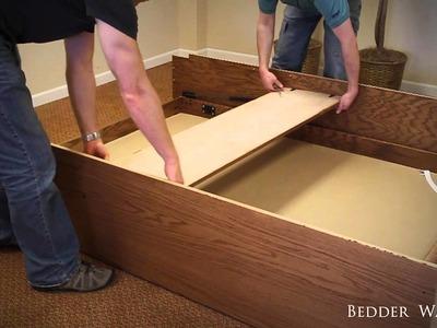 Disassembling your Murphy Bed - Bedder Way Murphy Beds
