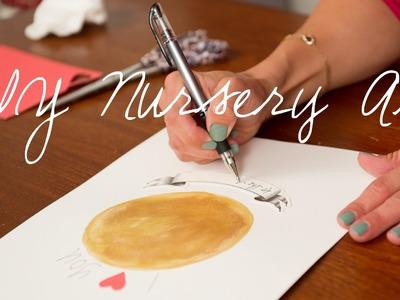 DIY: How to Create Nursery Artwork