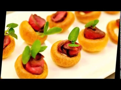 Easy canapes ideas
