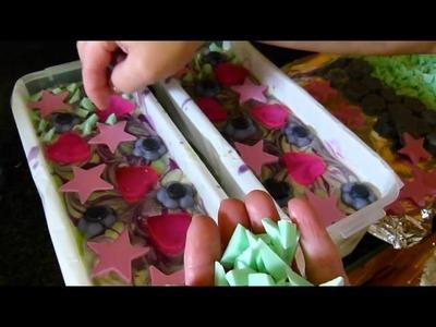Edens Secret - Decorating My Rock Candy Cold Process Soap