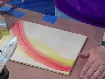 Encaustic Workshop with Ellen Koment Part I The Basics