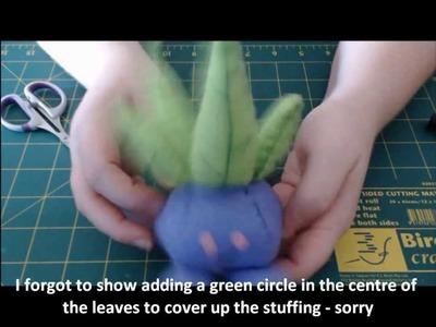 Ep 1. Making Pokemon 43 - Oddish Plush