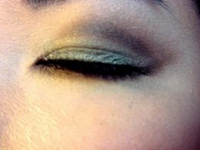Hanh's sultry green brown look (spring inspired)