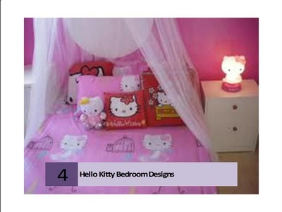 Hello Kitty Bedroom Design Ideas, Pictures, Remodel and Decor