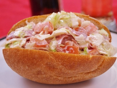 Hoagie Recipe: Mini Hoagies.Dip: How to Make: Super Bowl Appetizer: Di Kometa-Dishin' With Di  #41