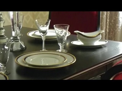 How to Decorate the Dining Room of a Small Apartment : Interior Decorating for Apartments