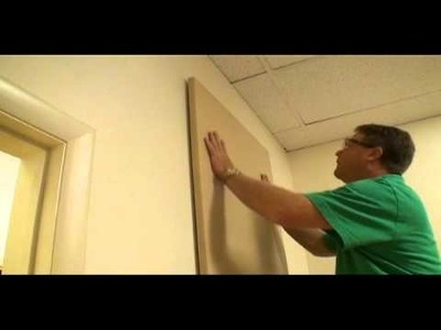 How to Install Commonwealth Collection Acoustical Wall Panels (Acoustical Solutions, Inc.)
