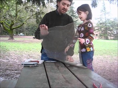How to make a Mold and Deckle for Making Paper