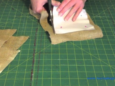 How to make your own Door Stop out of Burlap