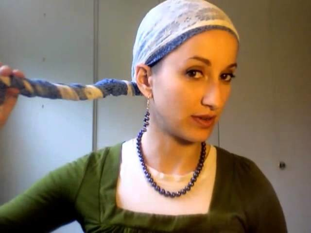 How To Wrap an Infinity Scarf on Your Head! (Tichel Wrapunzel)