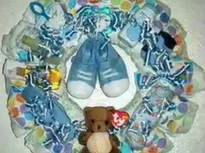 My Baby Diaper Wreaths