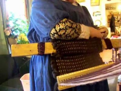 Nancy Today: Backstrap Loom 2  (weaving 33) ASMR weaving