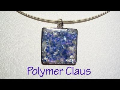Opal effect polymer clay tutorial (english sub)