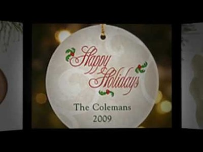 Personalized Christmas Ornaments Create a Memorable Holiday