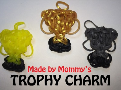 Rainbow Loom Charm: Trophy Award