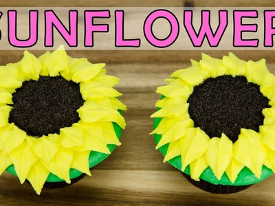 Sunflower Cupcakes: How to Make by  Cookies Cupcakes and Cardio