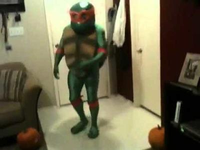 TMNT Michelangelo Custom Costume - Halloween 2011