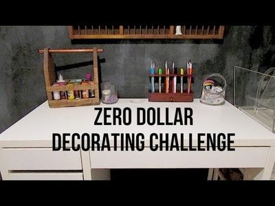 Zero Dollar Decorating   My Craft Desk