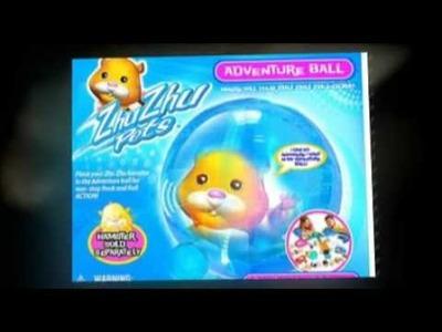 Zhu Zhu Pets Adventure Ball - Have you met the Zhu Zhu Pet Hamsters yet?