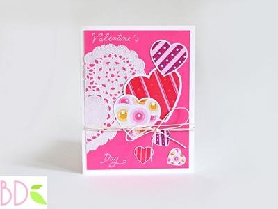 Biglietto Romantico San Valentino - Romantic Valentine's Day Card