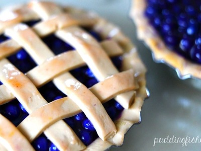 Blueberry Pie: Polymer Clay Tutorial