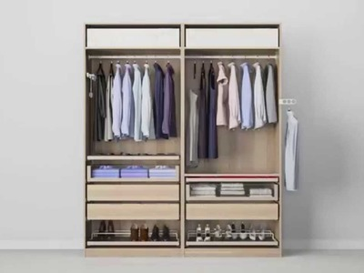 Check out how to get beautifully organised in this wardrobe doors and interiors video
