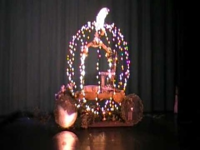 Cinderella Carriage with Lighting and Special Effects