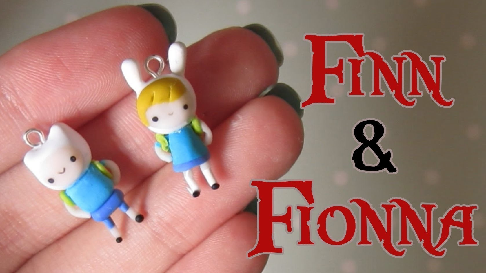 Finn & Fionna Tutorial From Adventure Time! Polymer Clay.