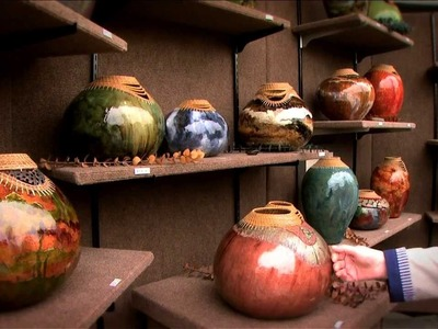From the Vine - John Hernandez Gourd Artist - Gallery Television Series