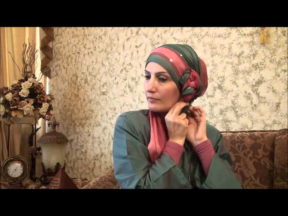 Hijab Tutorial # 11(Elegant Hijab w. Twisted Flower)