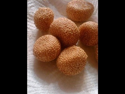 How to Make Dim Sum Sesame Seed Balls (Jin Deui)