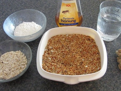 How To Make HEALTHY Homemade Bird Treats! (All birds!)