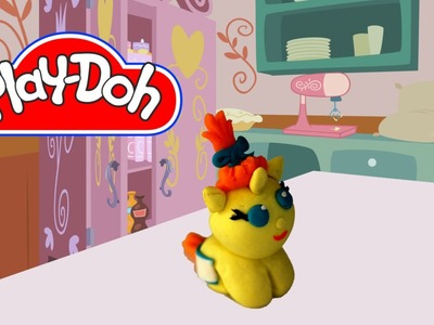 How to make Play Doh Baby Pumpkin Cake My Little Pony