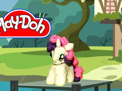 How to make Play Doh Sweetie Belle My Little Pony