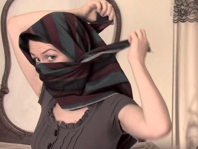 How to Tie a Shemagh Scarf : Scarves