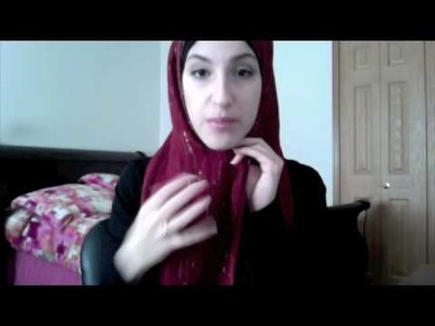 How to Wear a Headscarf: (Hijab Tutorial #2 - Shayla Style)