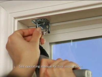 Installing Mini-Blinds: Dremel Driver
