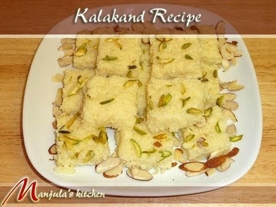 Kalakand (Indian Sweet) Recipe by Manjula