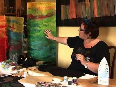 Kim Thittichai - Mixed Media textile artist - Taster Video