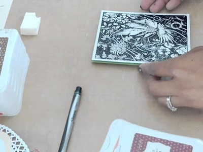Local King Rubber Stamp Card & Tutorial