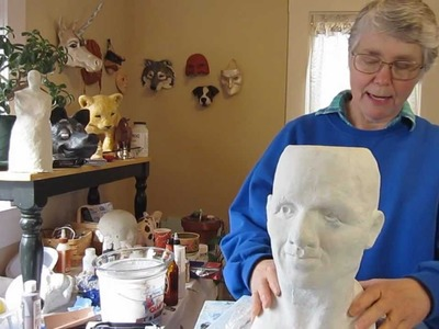 Paper Mache Head, Part 2