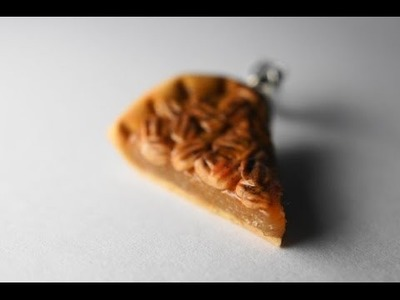 Pecan Pie Tutorial, Polymer Clay Miniature Food Tutorial