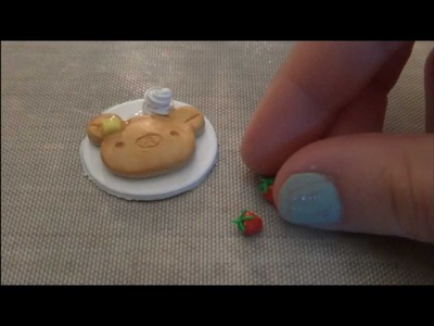 Polymer Clay: Rilakkuma Pancake Tutorial