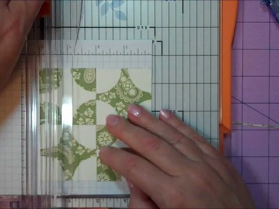 Quilt Card Tutorial - Old Mill Wheel.wmv