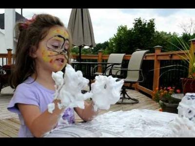 Shaving Cream Activity for Kids